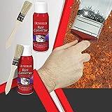 Car Chassis Rust Remover,Multifunktionaler RostlöSer,Mehrzweck-Rostlöser Metall,Multi-Purpose Rust Inhibitor Rust Remover Derusting Spray Car Maintenance Cleaning Rust Dissolver