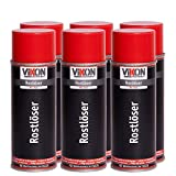 6 Dosen VIKON Rostlöser MoS2 Spray 400 ml