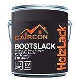 Bootslack Holzlack | Matt Farblos | Klarlack für Holz Möbel Schiffslack Treppenlack Gartenmöbellack 2,5L