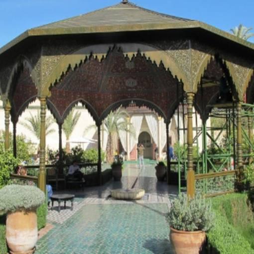 Jardin Secret in Marrakesch: Der Garten ist eine Oase der Ruhe und Entschleunigung.