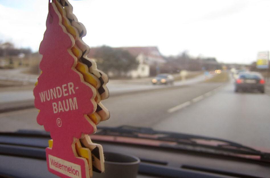 Wunder-Baum Duftbaum im Auto