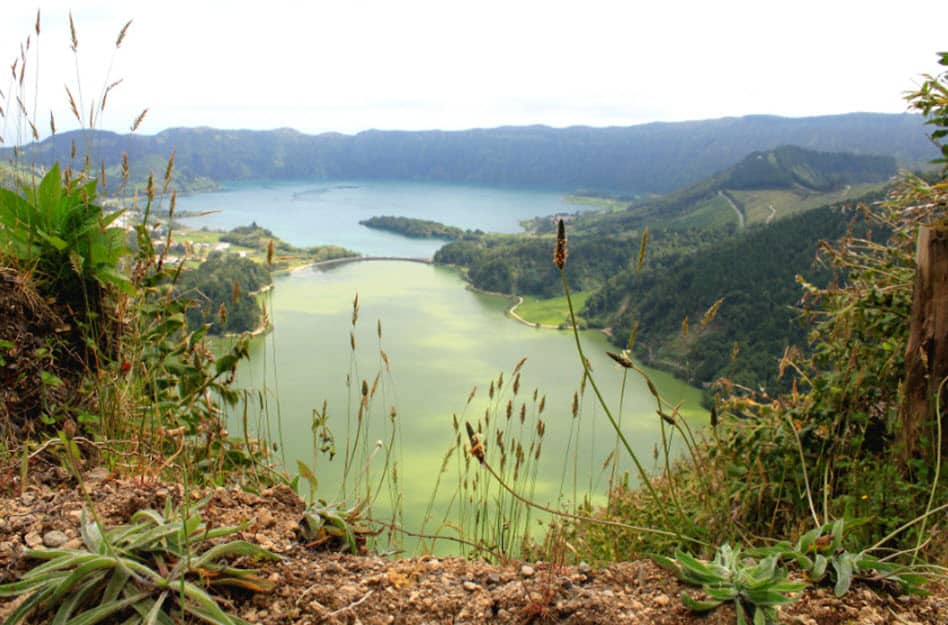 Azoren See Natur Wasserlandschaft