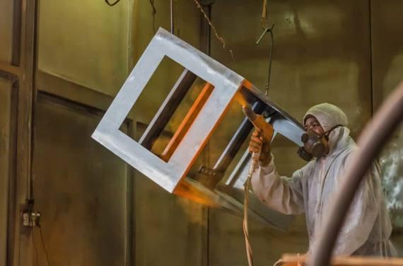 Die Pulverbeschichtung – eine beliebte Metallbeschichtung