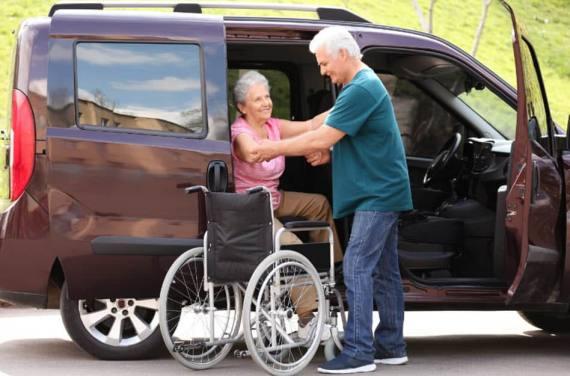 Behindertenfahrzeuge